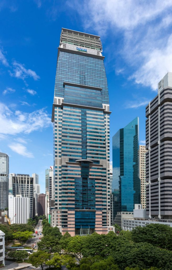 Smart Building Spotlight Capital Tower Singapore Next